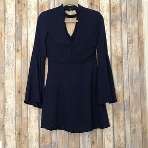 Socialite Harper bell sleeve dress | S